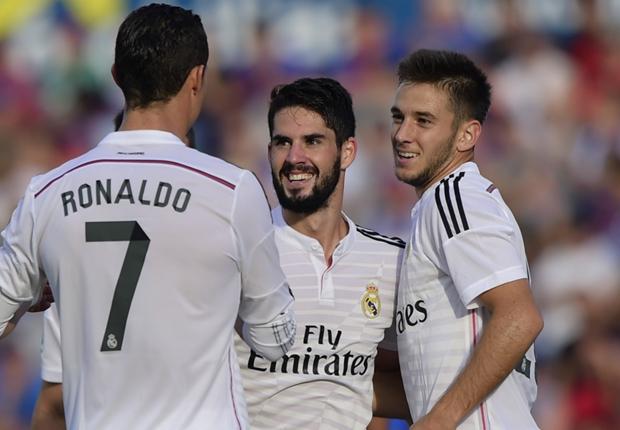 Freude bei Real Madrid: Gegen Levante gab es den fünften Ligasieg in Folge