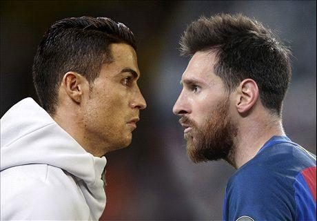 Messi vs. Ronaldo: en números