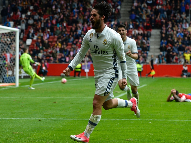 Isco au secours du Real Madrid