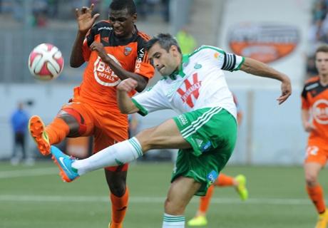 Résumé de match, Lorient-Saint-Etienne (0-0)