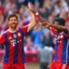Alonso celebra un gol con el Bayern