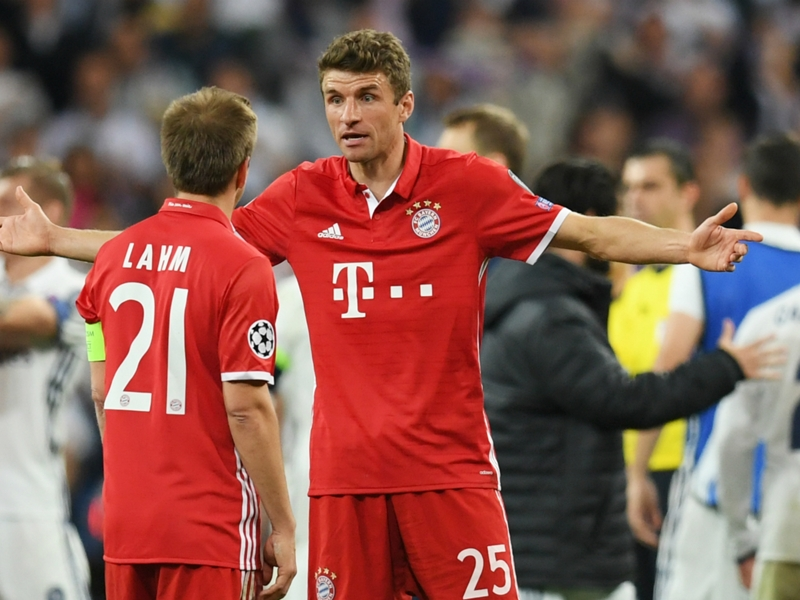 Muller slams Champions League officials: It was 10 against 14