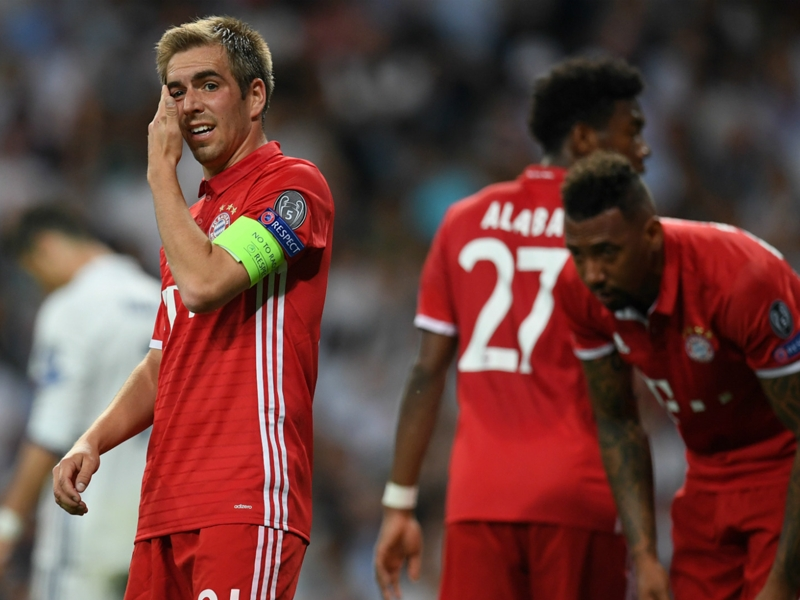 Lahm bids 'bitter farewell' to Champions League