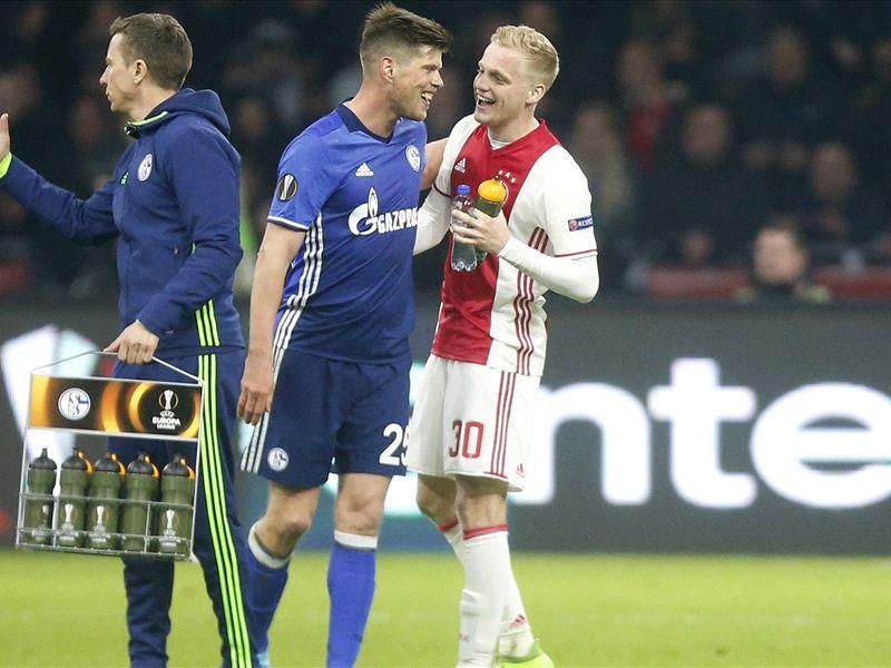 LIVE: Schalke vs Ajax