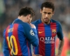 'The best in the world' - Neymar delighted with Messi's Barca extension