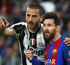 MESSI: Muzzled by Juve giants