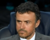 Barcelona coach Luis Enrique during his side's Champions League exit to Juventus