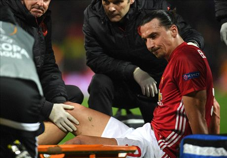 Ibrahimovic & Rojo out for season