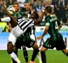 La Juventus (1-1), la Juventus accrochée malgré Pogba