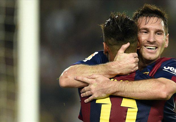 Barcelona 3-0 Eibar: Messi edges closer to Liga record in Camp Nou cruise