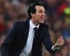 Paris Saint-Germain head coach Unai Emery