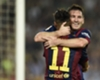 Barcelona 3-0 Eibar: Messi near record