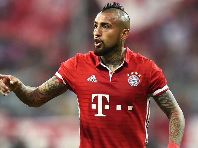 'New hair, new flair' - Bayern star Vidal gets fresh look for Confederations Cup