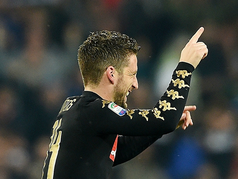 Mertens has a family situation - De Laurentiis hints at Napoli exit
