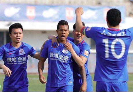 Shanghai Shenhua no extrañó a Tevez