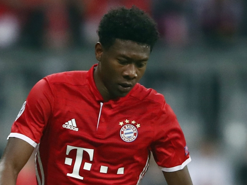 Bayern defender Alaba a doubt for Pokal semi-final clash with Dortmund