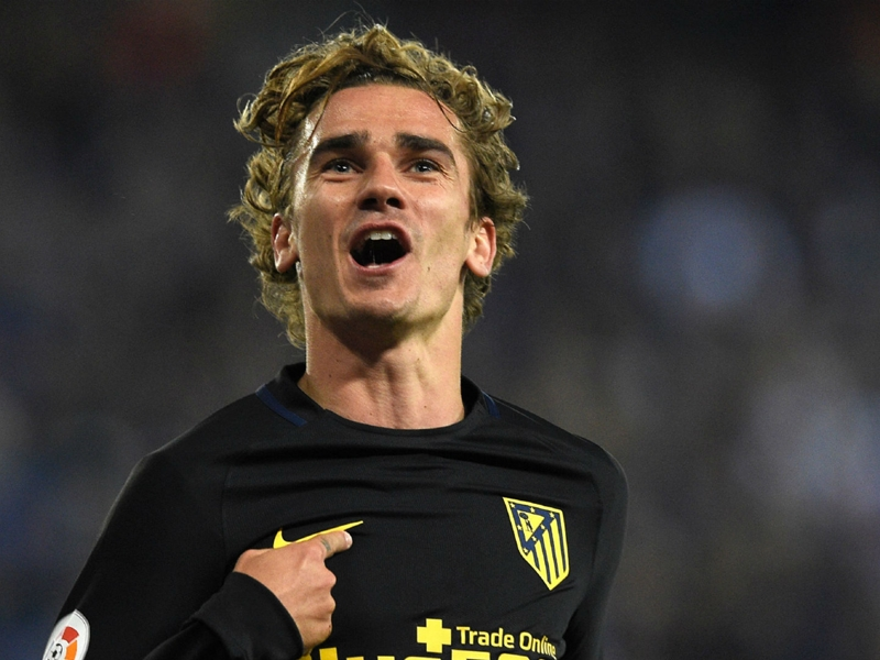 Newly-wed Griezmann shows off bold new hairstyle