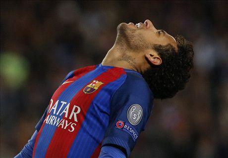 Neymar will miss El Clasico