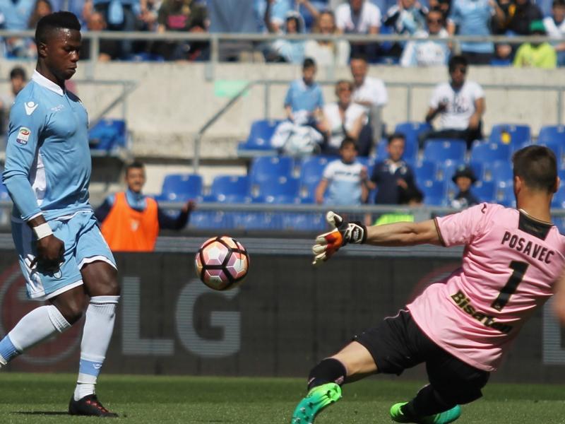 Lazio 6 Palermo 2: Keita nets five-minute hat-trick