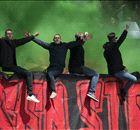 Feyenoorders vieren feest in GelreDome