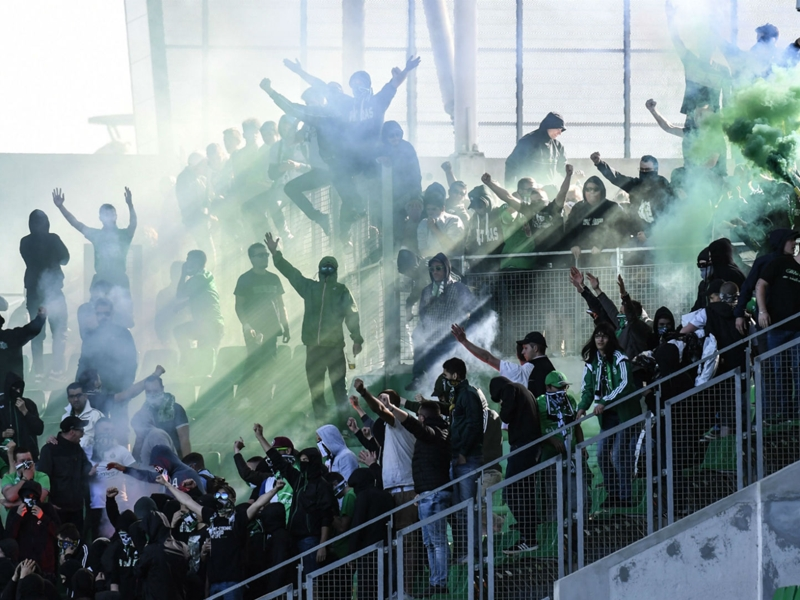 Ultras invade stadium during St Etienne fixture being played behind closed doors