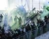 Saint Etienne taraftarı, tribün cezasına rağmen stadyuma girdi