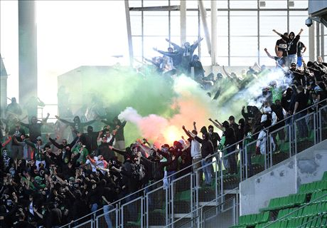 Ultras invade Saint-Etienne stadium