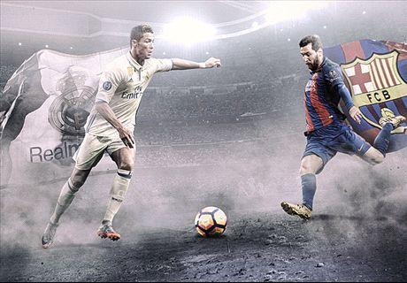 LIVE: Real Madrid vs. Barcelona