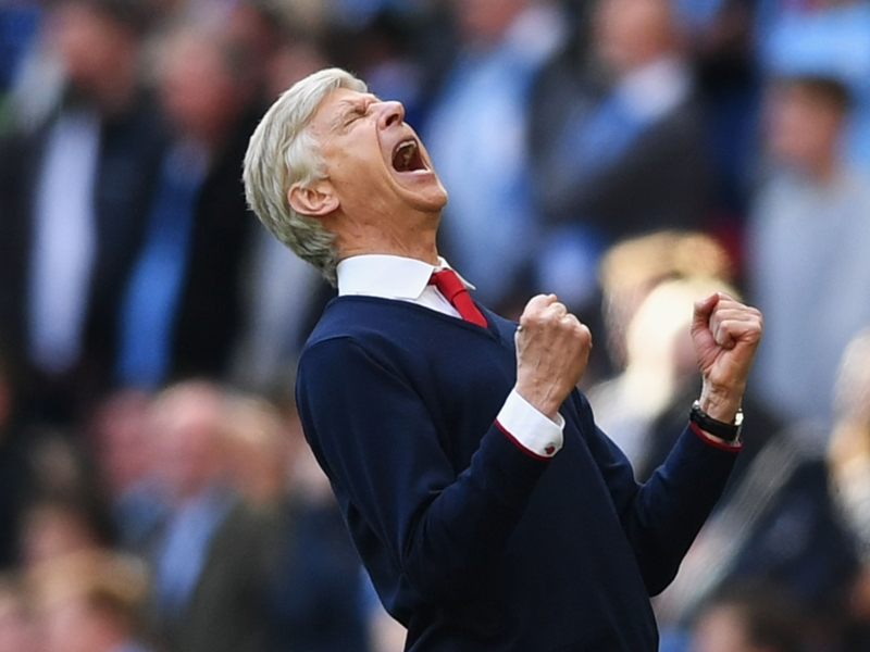 """Arsenal, Wenger : """"La meilleure des réponses"""""""