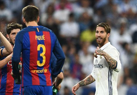 Ramos snipes at Pique after red card