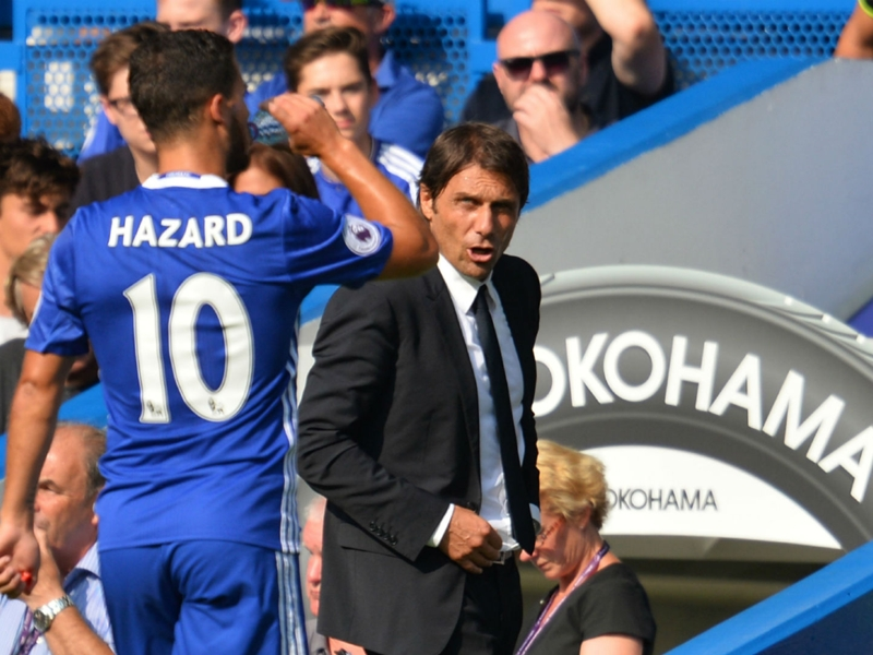 Messi is not selfish – Chelsea boss Conte disagrees with Fabregas over Hazard advice