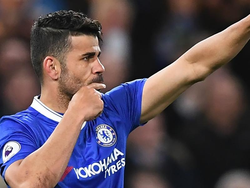 Chelsea striker Costa beats Suarez to 50 Premier League goal mark