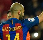MASCHERANO: Finally breaks Barca duck