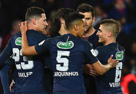 Five-star PSG into Coupe de France final