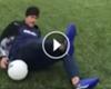 VÍDEO: El truco de Neymar... ¡que acaba en un tortazo!