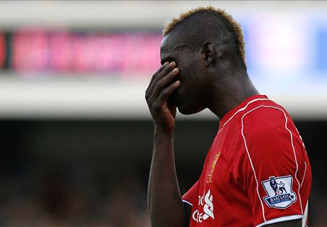 Balotelli 'very disappointed' by drought