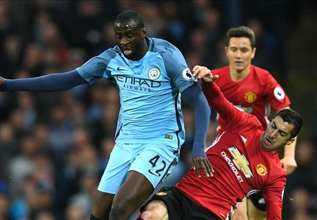 Toure taunts Man Utd after derby draw