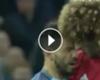 VIDEO: El cabezazo de Fellaini por el que fue expulsado