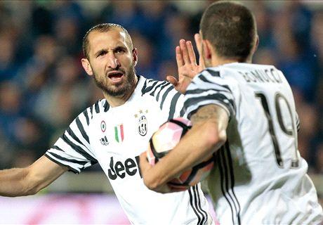 Late drama sees Juve held by Atalanta