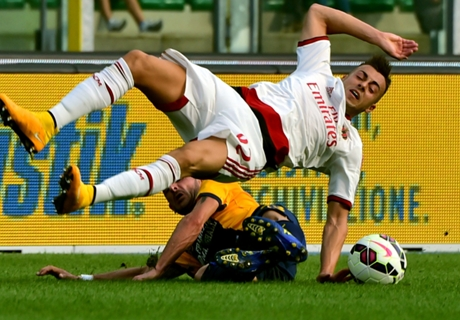 Player Ratings: Hellas Verona 1-3 Milan