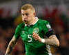 Ireland winger James McClean