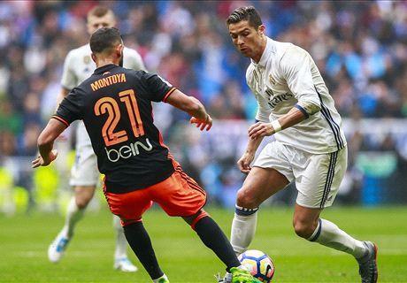 LIVE: Real Madrid vs Valencia