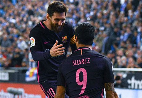 Luck of champions aids Barca