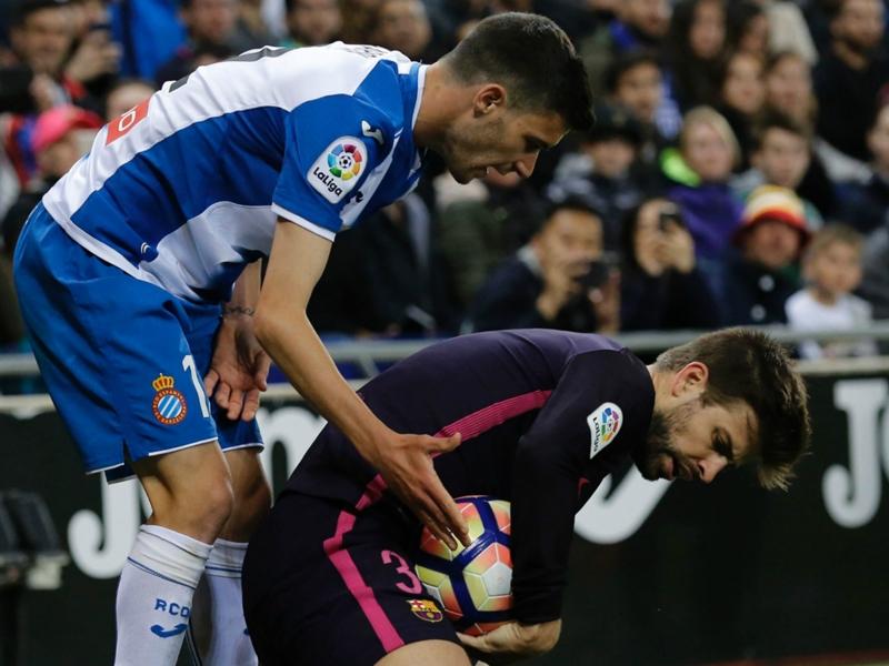 """Barça, Piqué : """"Avec le Bernabeu, Cornellà est le stade dans lequel je me sens le mieux"""""""