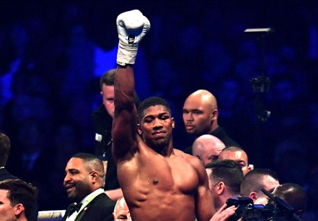 'Respect!' - Footballers react to Joshua win