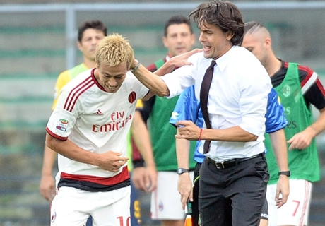 Inzaghi hails Honda and Essien quality