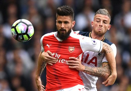 LIVE: Tottenham vs. Arsenal