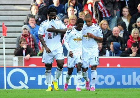Stoke City 2-1 Swansea City