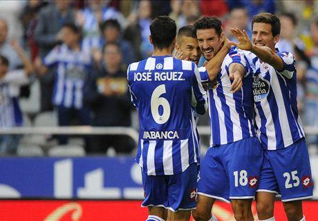 Liga BBVA: Rayo 1-2 Deportivo