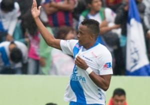 Con el Puebla, Pajoy tuvo complicaciones para destacar